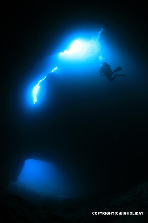 宮古島ダイビング一の瀬ホール