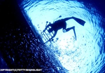 EXITの間際にダイビング哲学を考える