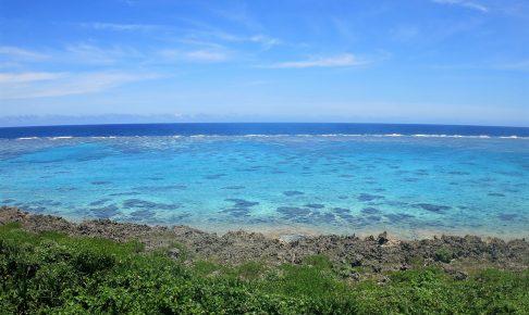 宮古島ビーチ風景