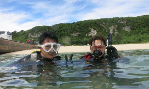 記念ダイビング