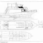 ダイビングボートの新艇設計書