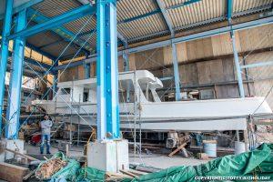 ダイビングボート造船過程12