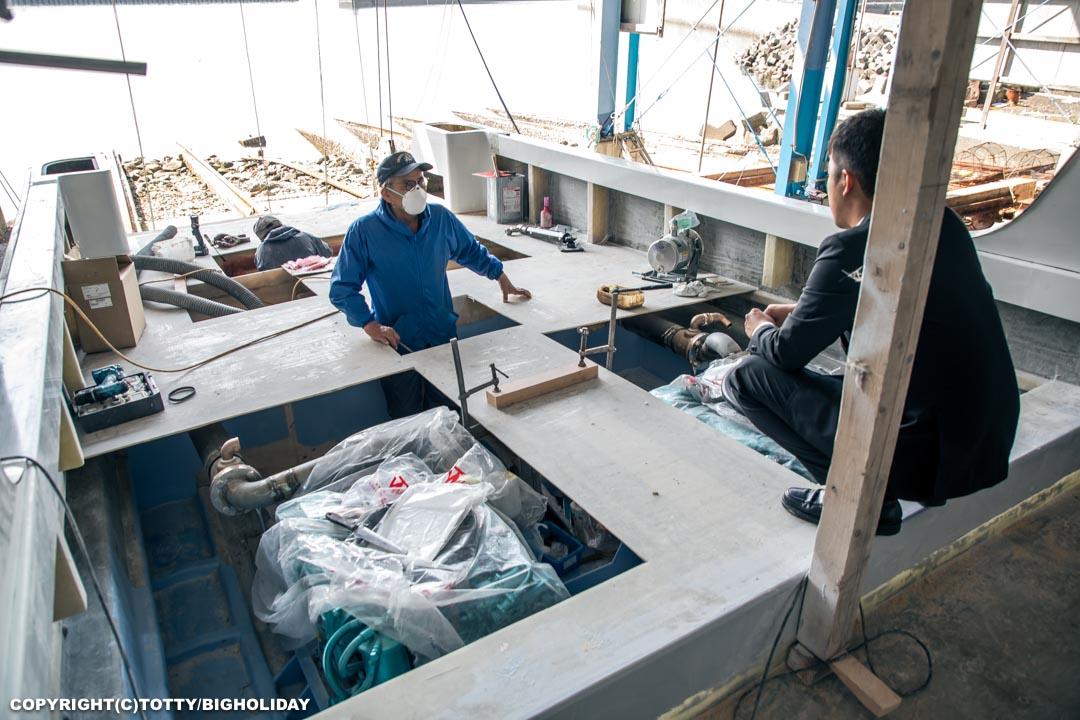 ダイビングボート造船過程5