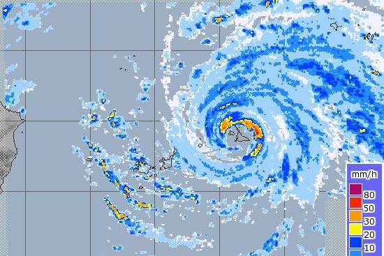 宮古島台風13号