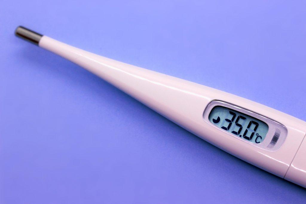 ハイポサーミア 低体温症